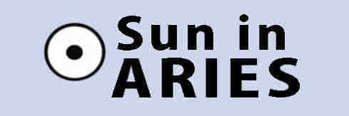 sun in Aries