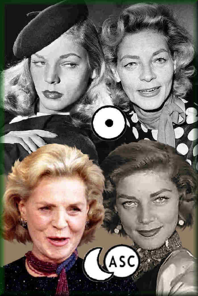analysis of personality, Virgo Lauren Bacall