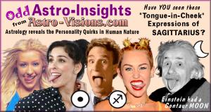 Odd Astro-Insights, Sagittarius