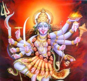 Tongue of Kali, Hindu Goddess