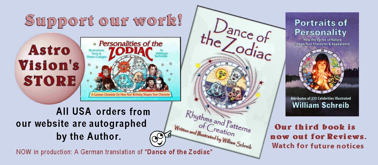 astrovisions' books